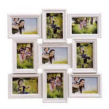Marco de fotos portafotos multiple blanco 9 fotos 10x15