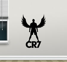 Cristiano Ronaldo Wall Decal CR7 Sport Gym Football Vinyl Sticker Decor 163hor