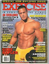 EXERCISE FOR MEN ONLY bodybuilding muscle fitness magazine 10-99