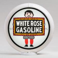 "White Rose Boy 13.5"" Gas Pump Globe (G205) FREE SHIPPING - U.S. Only"