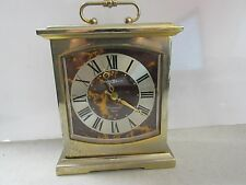Howard Miller Clock Westminster Chime Brass Carriage Clock Model No.612737 22400