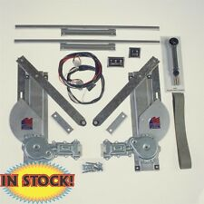 SPW 1928-31 Ford Model A 2 Door Complete Power Window Kit 2631MA-2C