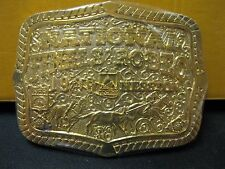 Hesston Belt Buckle Commemorative Series 1999 National Finals Rodeo #54 or #56