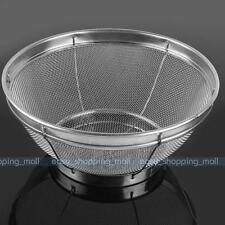 New Stainless Steel Mesh Colander Strainer Sifter Sieve Kitchen Food Vegetable