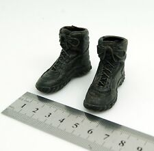 X03-06 1/6 Scale HOT Male Black Boots (hollow) TOYS