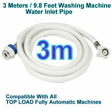 3 Meters 9.8 Water INLET HOSE PIPE For Fully Automatic Washing Machine Universal