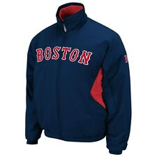 MLB Majestic Authentic Boston Red Sox Therma Base Jacket New Big Size 3XL