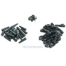 20 Sets Safety Lead Clips Carp With Pins Rubber Tubes Fishing Tackle Accessories