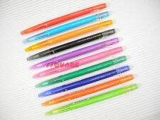 Pilot FriXion Ball Slim 0.38mm Erasable Rollerball Gel Pen, 10 Colors Set