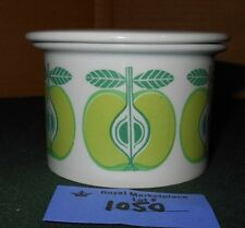 Arabia Finland Pomona Pamona APPLE Sugar Bowl Jam Jelly Pot With Lid #1050