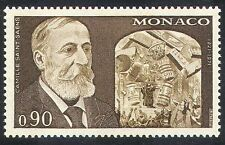 Monaco 1972 Camille Saint-Saens/Music/Composer/Opera/Singing/People 1v (n34634)