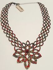 OTTAVIANI: COLLANA CON STRASS MULTICOLOR  art 500018C