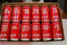 "From COCA-COLA - NEW ""SHARE A COKE and A SONG""  12 cans SET"