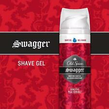 OLD SPICE SMOOTHING SHAVE GEL FOR MEN (SENSITIVE), 70g: SWAGGER, NEW