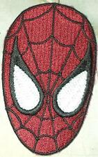 Iron On/ Sew On Embroidered Patch Badge Spiderman Spider Man Mask Face