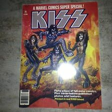 KISS 1977 comic cover poster/Sticker one of a kind