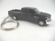 2014 Dodge RAM 1500 Hemi Bighorn Truck Pickup Midnight Blue with Hitch Keychain