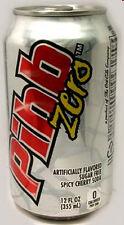 FULL NEW 12oz 355 American Can Coca-Cola's Pibb Zero Cherry + Cinnamon USA 2012
