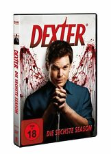 4 DVDs * DEXTER   -   STAFFEL / SEASON 6   #   NEU OVP +