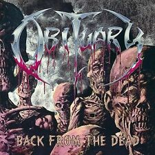 Obituary Back From The Dead CD 1997 Roadrunner Records ENHANCED ECD BMG Club Ed