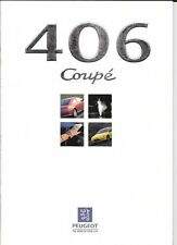 PEUGEOT 406 COUPE -  2.0, 3.0 V6 AND 3.0 V6 SE SALES BROCHURE JUNE 1997
