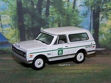 1969 69 CHEVY  BLAZER PARK RANGER TRUCK 1/64 SCALE COLLECTIBLE MODEL - DIORAMA