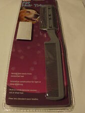 Pet Dog Cat Hair Trimmer With Comb and Extra Razors