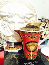 VERSACE MEDUSA CREAMER COVERED POT LARGE Rosenthal New Authentic SALE 450$
