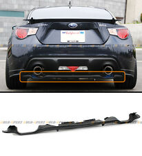 For 2013-2016 Subaru BRZ & Scion FR-S FRS 86 Rear Add-on Bumper Lower Diffuser
