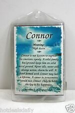 CONNOR WHAT'S IN A NAME MAGNETS MEANING OF NAME HISTORY OF NAME AND ATTRIBUTES