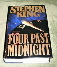 FOUR PAST MIDNIGHT by Stephen King ~ 1990 HC/DJ ~ 1st Edition 1st Printing