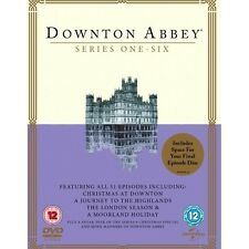 Downtown Abbey Complete Collection DVD Box Set Series 1-6 Christmas Downtown