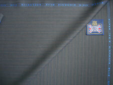 KITON SUPER 150's WOOL DIAMANTE BLUE SUITING FABRIC EXCLUSIVELY FOR KITON- 3.4 m