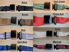 "1926 1958 Pontiac Metal Buckle Rear Seat Belt 72"" Various Colors, CPE5072_"