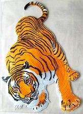 Espalda Patch tiger 23x32 cm bengaltiger gato gato grande gato back Patch