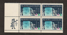 SCOTT # 2087 Health Research Issue United States Stamps MNH - Zip Block of 4