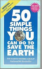 50 Simple Things You Can Do To Save The Earth The Earth Works Group PB 1991