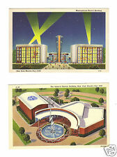 1939 New York World's Fair-General Electric & Westinghouse Electric Bldg.
