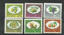 1981- Libya- Fruits- Complete set 6v MNH**