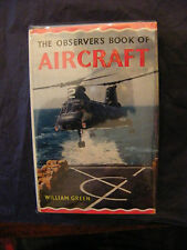 The observer's book of Aircraft 1968 William Green