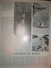Article US Space travel Saturn V Apollo 4 1967