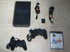 Playstation 2 komplett mit 2 Controller + Spiel Final Fantasy X 10