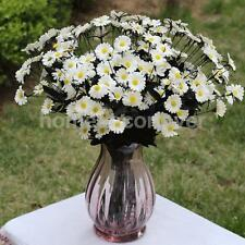 Artificial Daisy 5-Fork Bloomy Flower Plant Bunch Home Party Decor Off-White