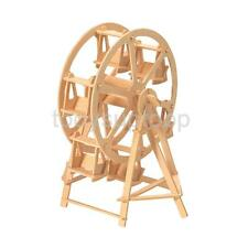 3D Jigsaw Woodcraft Construction Kit Ferris Wheel Wooden Model Puzzles Toys