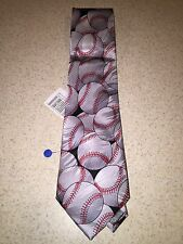 """Keith Daniels Baseball Tie """"Play Ball Series"""" 6 of 6 NWT MSRP $29.99 Only 9.99"""