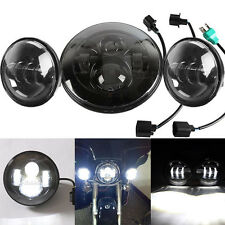 """7"""" Daymaker Headlight Passing Light Fit for Harley Ultra Classic Electra Glide"""