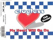 CLUELESS My Heart Will Go On CD Maxi Single 1998 Germany ZYX CELINE DION cover