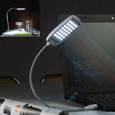 USB Mini Bight 28 LED Light Flexible Lamp Laptop Notbook PC Desk Read Reading
