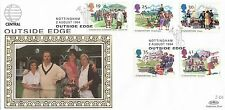 (82246) CLEARANCE GB Benham FDC Summertime Outside Edge Central Nottingham 1994