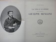 1930-LA VITA E LE OPERE DELL'ARCHITETTO GIUSEPPE MENGONI-FONTANELICE-IMOLA-MILAN